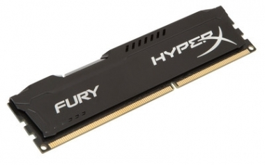 Memoria PC HyperX DDR3 4GB 1600MHz FURY Black