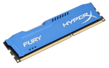Memoria PC HyperX FURY DDR3 4GB 1866MHz Blue