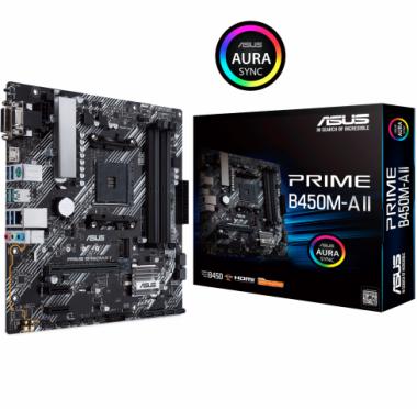 Motherboard (AM4) PRIME B450M-A II