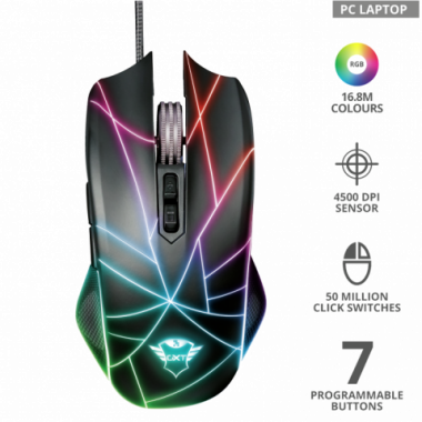 Mouse Gaming GXT160X Ture RGB