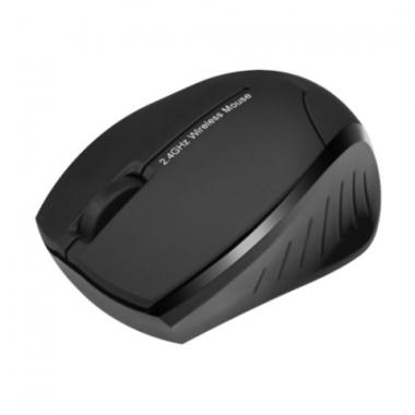 Mouse Inalámbrico Beetle 2.4GHz Negro KMO-310BK