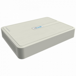 NVR mini- HD - 4 canales 1U H.265+ 12V POE