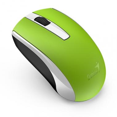 Mouse inalámbrico ECO-8100 Verde