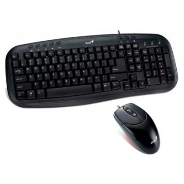 Combo teclado y mouse Smart KM-200 USB