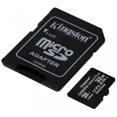 Tarjeta microSDHC 32GB Canvas Select Plus c/adapta